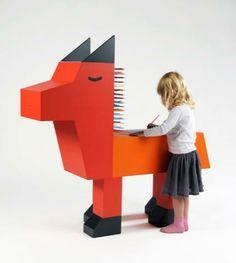 Diseño Infantil: Mesas para dibujar