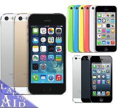Apple iPhone 5S 5C 5 16GB/32GB/64GB AT&T Verizon Sprint T-Mobile GSM Unlocked