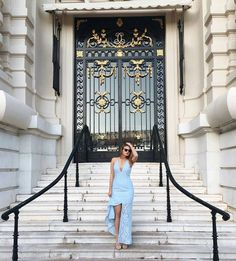 B E A U T Y.  Our #JarloGirl @by.osquare channeled the blue vibes so flawlessly in our #SS16 CADENCE dress <3!! Simply loving this gorgeous look! #potd #ootd #blacktie #exquisite #occasionwear #fblogger