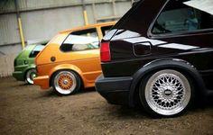 Volkswagen Golf MK2 MK1 bbs