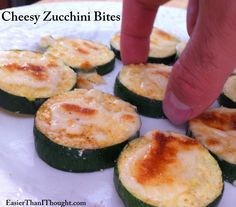 Easier Than I Thought: Cheesy Zucchini Bites