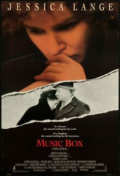 """Music Box 1989 ORIGINAL MOVIE POSTER Drama Thriller - Dimensions: 27"""" x 41"""" at Amazon's Entertainment Collectibles Store"""