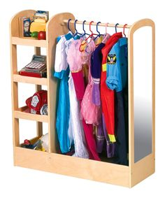 Love this See and Store Dress-Up Center by Guidecraft on #zulily! #zulilyfinds