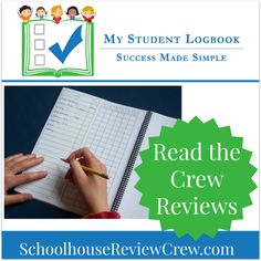 My Student Logbook: Daily Student Planner for Homeschool #hsreviews #homeschool #planners
