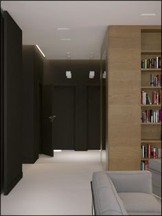 Visualizations done to the housing project of a 70 square meter flat.