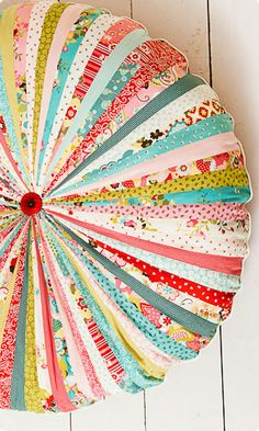 Enormous and Fabulous Patchwork Cushion Workshop