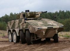 Boxer 8×8 multirole armoured vehicle with 30mm – Germany