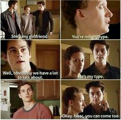 Dw girl, he's my type too. And stiles as well tho