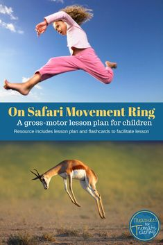 Safari Themed Movement Ring for Gross-Motor Development Teaching Tips, Learning Resources, Teacher Resources, Teacher Tools, Teacher Hacks, Gross Motor Activities, Vocabulary Building, Language Development, Thinking Skills