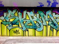 SKAM: This elder statesmen of the local graffiti scene is one of the best known writers in Toronto, influenced by classic New York City hip hop and BBoy cultures.
