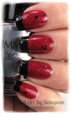Nail Art by Belegwen: Shimmer Polish: Mary