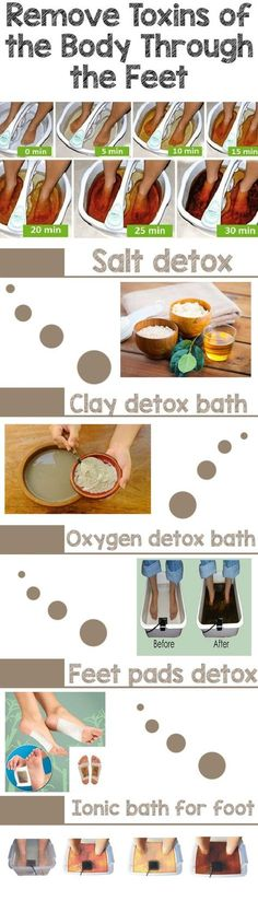 Detox baths will make you look and feel healthier and better. To make tired feet look well again, this foot detox is amazing.