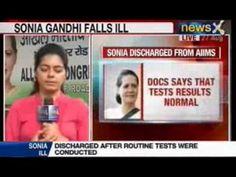 NewsX: Unwell Sonia Gandhi left Parliament before voting on Food Bill