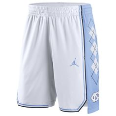 Men's Nike White North Carolina Tar Heels On Court Basketball Shorts