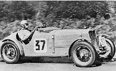 24h LE MANS 1933 - SINGER NINE Sport #37 -Frank Stanley Barnes - Alf Langley