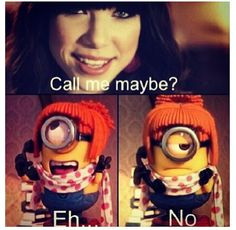 call me maybe minions