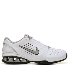 Nike Women's Reax Rockstar Training Shoes (White/Silver)