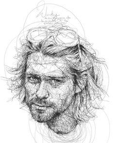 Kendine Has Tarzıyla Ünlülerin Portrelerini Çizen Sanatçı: Vince Low Sanatlı Bi Blog 33