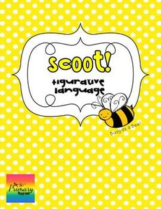 Scoot: Simile, Metaphor, Personification or Hyperbole? {Figurative Language} - The Primary Playground - TeachersPayTeachers.com