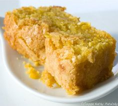 Sweet Fresh Corn Cake. Scoop or Loaf. Both Vegan. Serve with southern greens (collards maybe) and baked beans. Mmmmm.