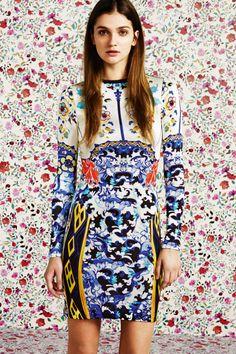 MARY KATRANTZOU FOR TOPSHOP MARY K PRINT DRESSES PANTS FLORALS BOWL SKINNY MIXED PRINTS 3