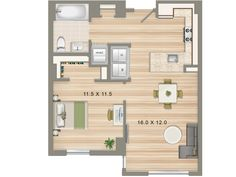 From Studios To Three Bedrooms Park Chelsea Has A Layout Fit Your Lifestyle Want Get Feel For What You Can Expect In Apartment