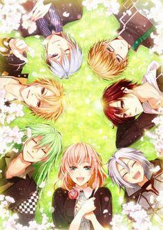Heroine & Ukyo & Toma & Ikki & Kento & Shin & Orion | Amnesia #otomegame