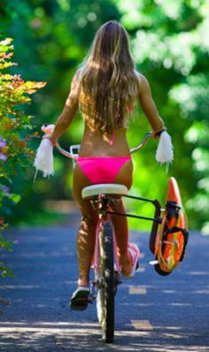 Bike ride to the beach #PAULxSUMMER