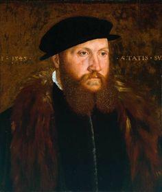 A Man in a Black Cap, John Bettes, 1545