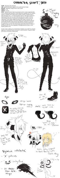 character Sheet: Skye by AishaxNekox.deviantart.com on @DeviantArt