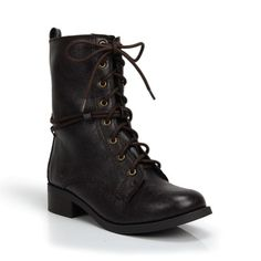 By Soda....Military Inspired Combat boots