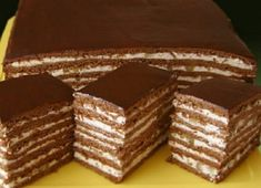 Druh receptu: Sladkosti - Page 63 of 326 - Mňamky-Recepty. Russian Cakes, Russian Desserts, Pastry Recipes, Cake Recipes, Dessert Recipes, Ukrainian Recipes, Russian Recipes, Just Desserts, Delicious Desserts