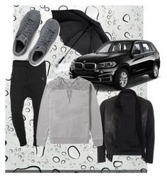"""""""It's raining!"""" by renicherie on Polyvore featuring Fame on You, Gucci, adidas Originals, Marcelo Burlon, mens, men, men's wear, mens wear, male and mens clothing"""