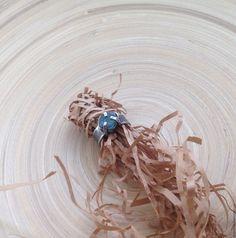 """Купить Кольцо с аквамарином """"Глубина"""" - голубой, кольцо с аквамарином, аквамарин и серебро, серебряное кольцо"""