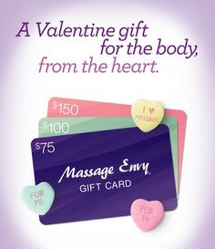 Valentines GCs Massage Envy Hudson WI