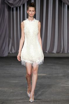 SPRING 2013 READY-TO-WEAR Christian Siriano
