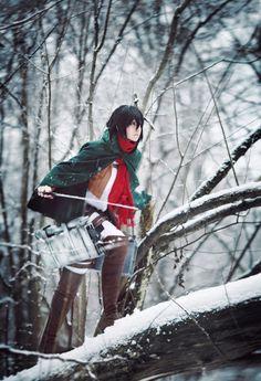 Mikasa by Millenia666 on DeviantArt