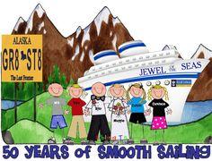 Cruise Alaska Vacation shirt GROUP option 4 or more by SiblingTs