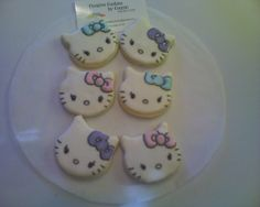 Located in near The Woodlands Tx. Custom decorated individually designed cookies. HELLO KITTY Email:creativecookiesbyconnie@gmail.com Call 936.321.2109