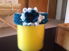 Baby girl's crochet headband