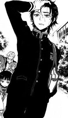 Image about manga in Owari no Seraph by Gianella Valentina Manga Art, Anime Art, Manhwa, Otaku, Character Art, Character Design, Male Icon, Seraph Of The End, Gothic Anime