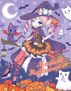 Hi cuties♡♡♡Happy Halloween greeting cards for you!This image is download free!http://saaki.pyrop.jp/