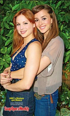 Bianca and Marissa