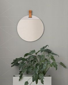 Discover the Plant Box by ferm Living in the interior design shop. Order the ferm Living all-rounder now. Lines Wallpaper, Graphic Wallpaper, Print Wallpaper, Round Wall Mirror, Round Mirrors, Large Mirrors, Plant Box, Burke Decor, Planter Boxes