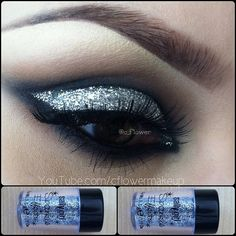 .@c_flower | Close up: Used Sally girl glitter from Sallys beauty supply store. Its only...