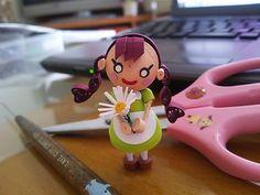 パキラさんのアンができました♪ の画像|ペーパークイリング Luna's Quilling