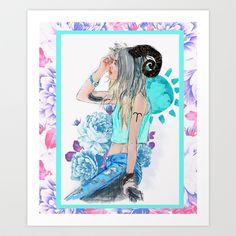 Aries Art Print by Sara Eshak - $19.24