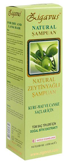 Zigavus Zeytinyağı Şampuanı