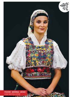 Polichno, Novohrad, Slovakia Ethnic Outfits, Ethnic Clothes, Costumes Around The World, Tribal Dress, Folk Embroidery, Wedding Costumes, Europe Fashion, Folk Costume, Festival Wear