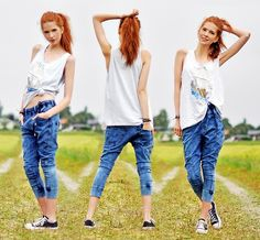 DIESEL JOGG JEANS (by Ebba Zingmark) http://lookbook.nu/look/2147551-DIESEL-JOGG-JEANS